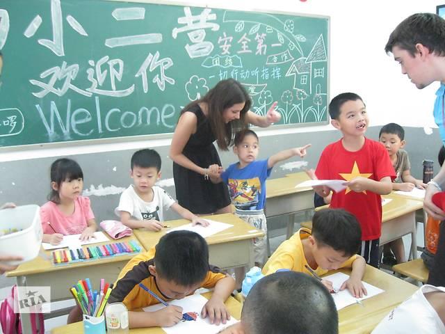 Преподаватель английского Китай дети
