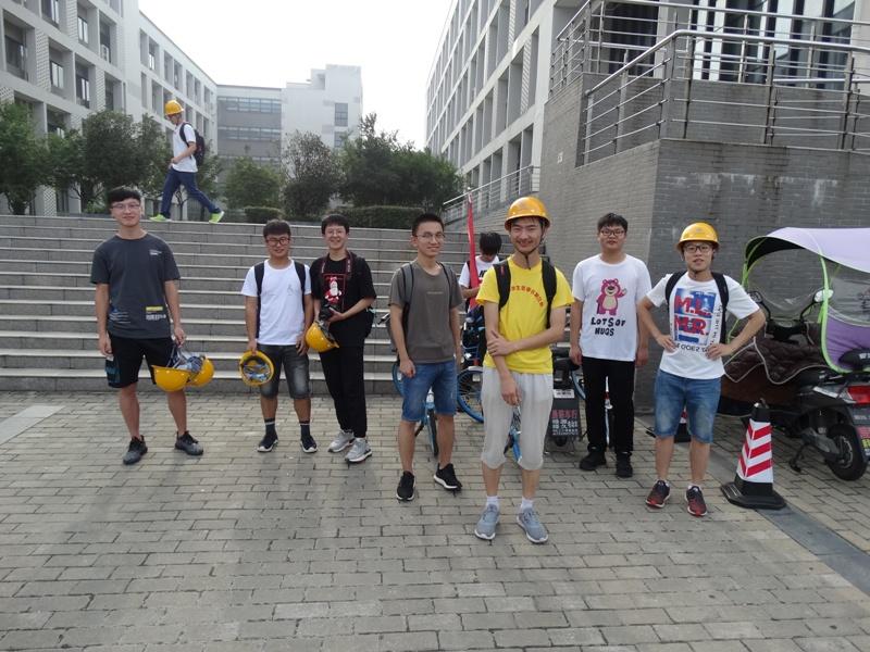 Студенческая практика Аньхойский университет,Хэфэй,Китай