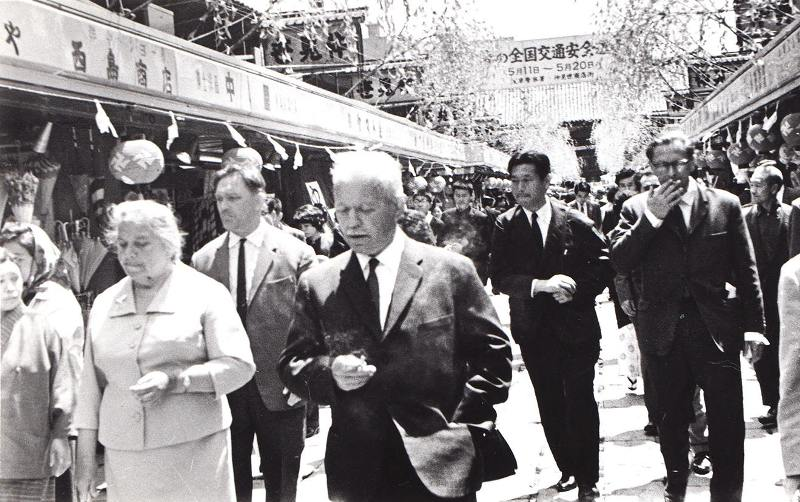 фото Михаил Шолохов КНР 1955