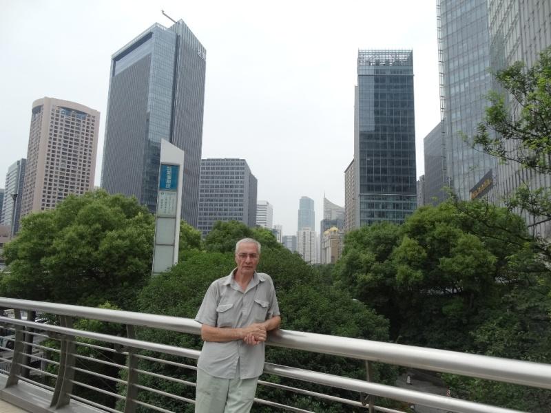 Аркадий Константинов,Шанхай,небоскрёбы