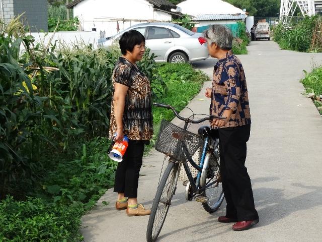 Шанхай. Местные жительницы