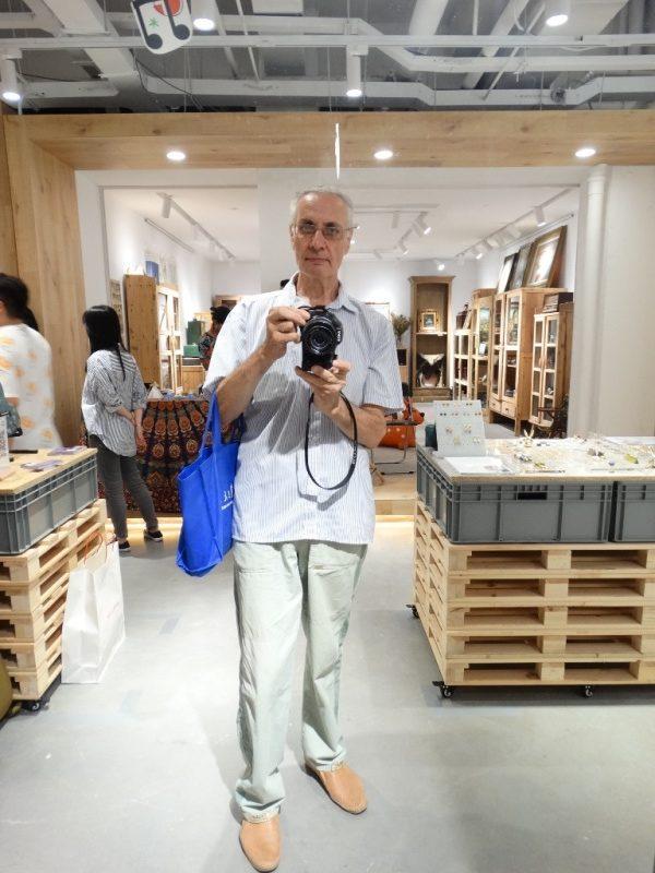 Аркадий Константинов,антикварный бутик Шанхай Китай