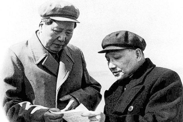 Дэн Сяопин,Мао Цзэдун