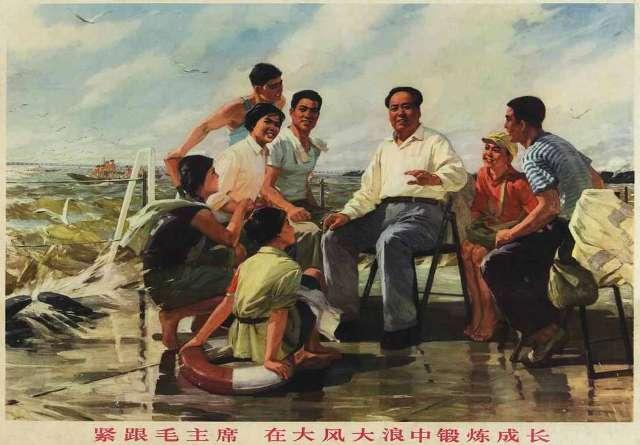 Мао Цзэдун рисунок