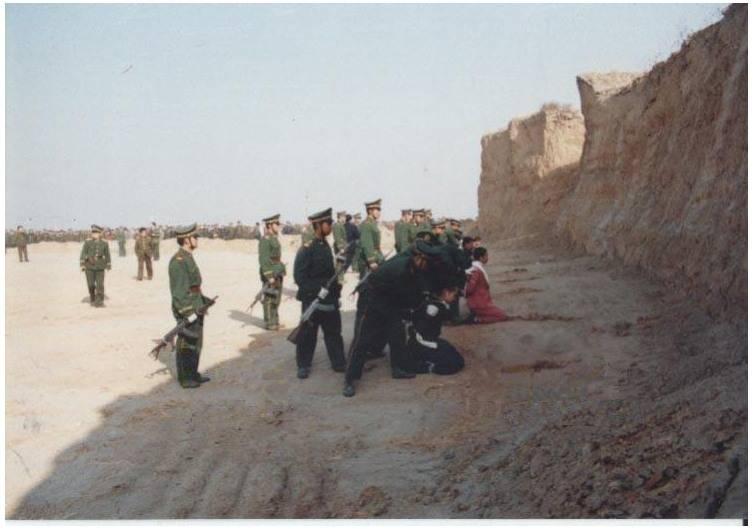 казнь каркоторговцев Китай