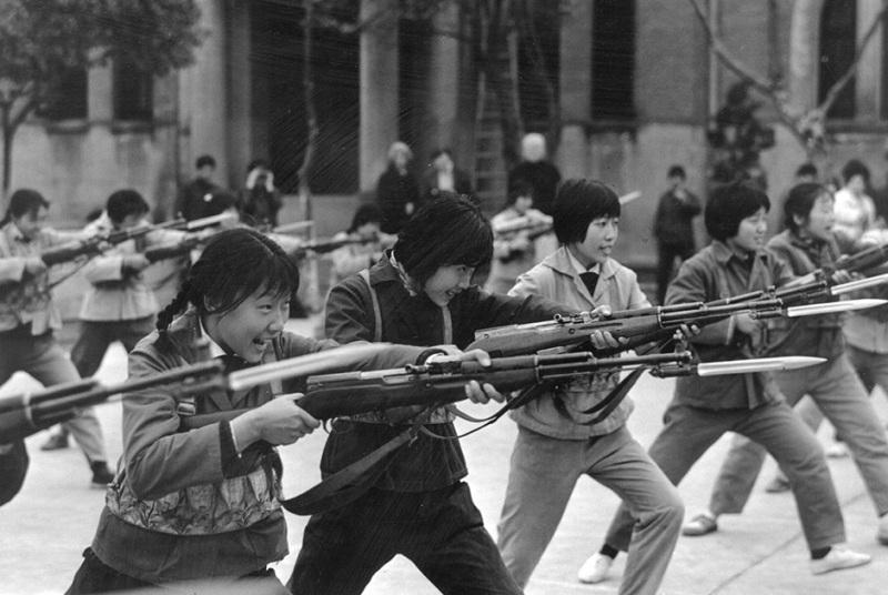 Великая культурная революция Китай хунвэйбины