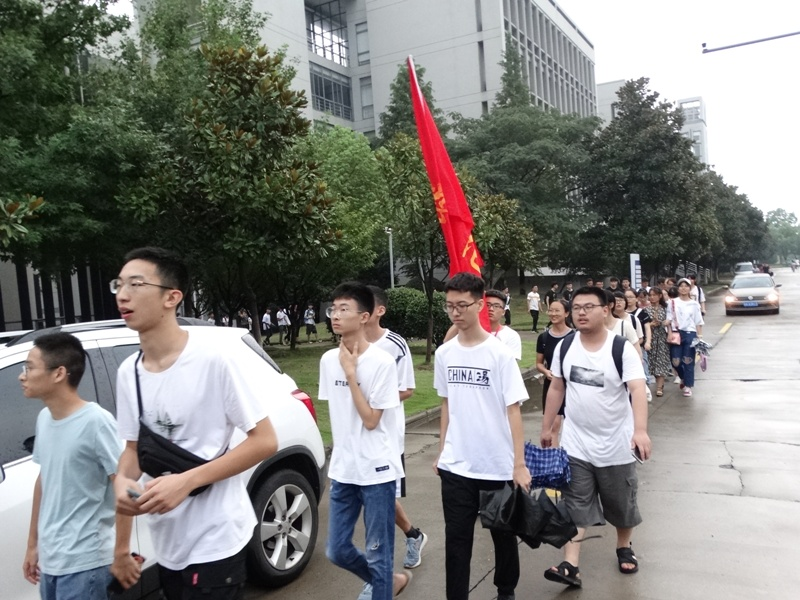 1 сентября студенты Анхойский университет Хэфэй Китай