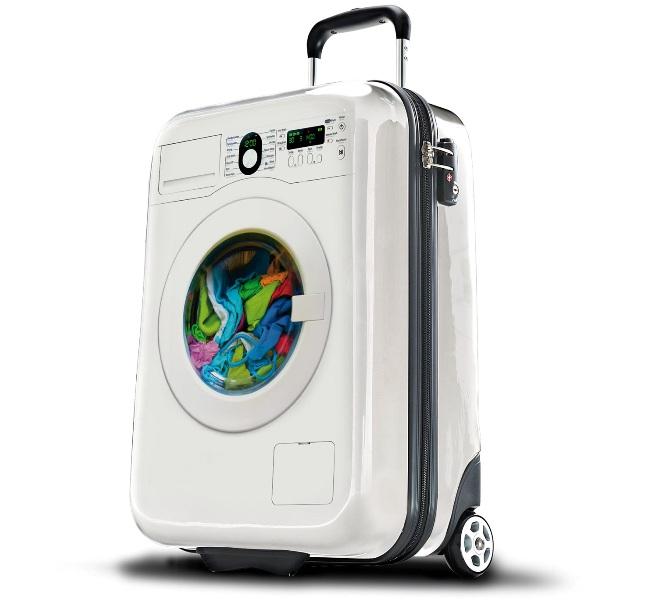 китайский чемодан стиральная машина,дизайн чемодана