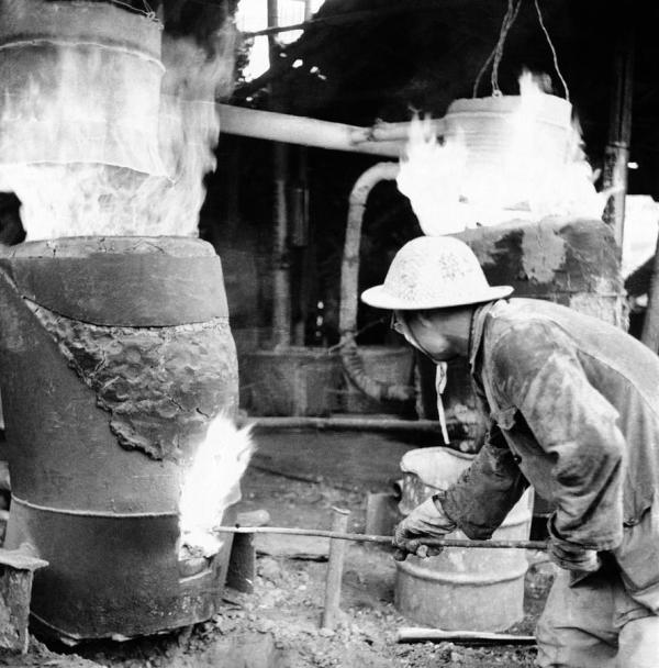 Китай,Большой скачок,выплавка металла