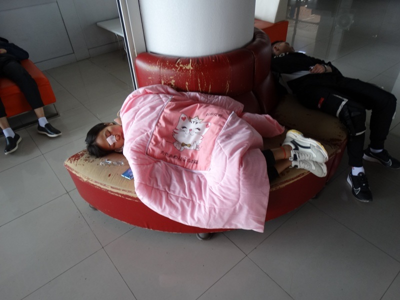 Тихий час в Китае, сон,спит