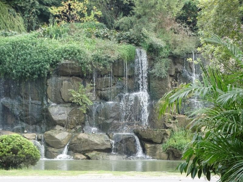 водопад парк Баохэ Хэфэй Китай