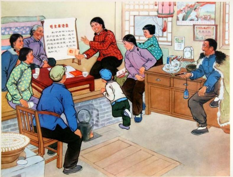ретро-рисунок китайская школа