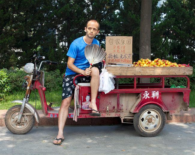 торговец фруктами,Бенуа Сезар