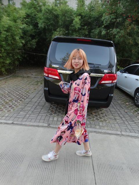 китайская студентка мода