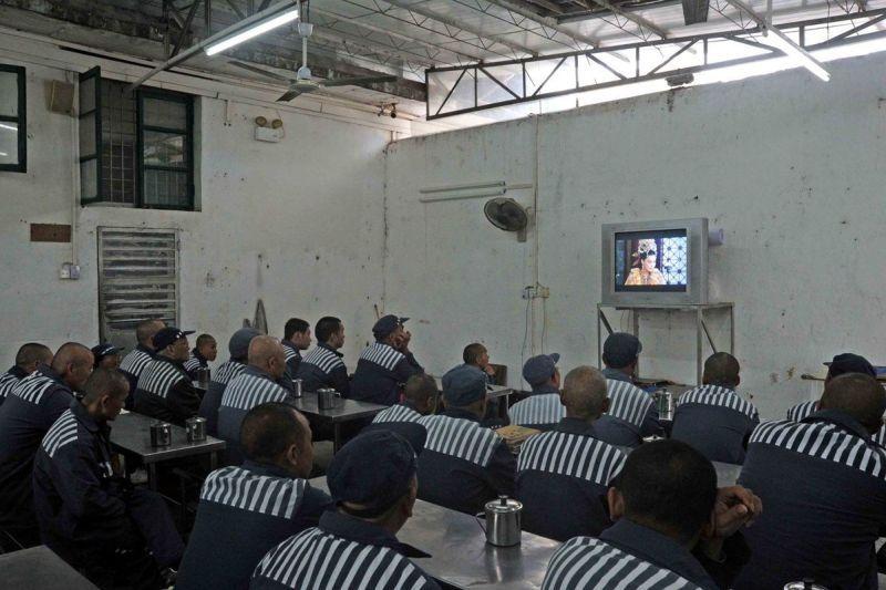 в китайской тюрьме