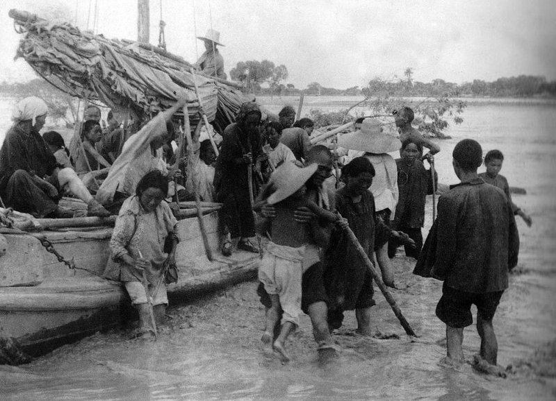 1931 наводнение старое фото