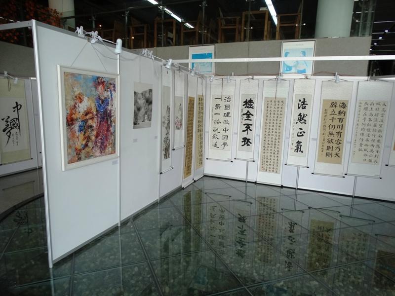 выставочный центр бывшая тюрьма Хэфэй картины китайский художников