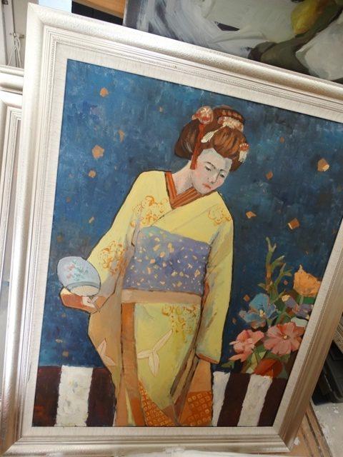 картина современное искусство Китай