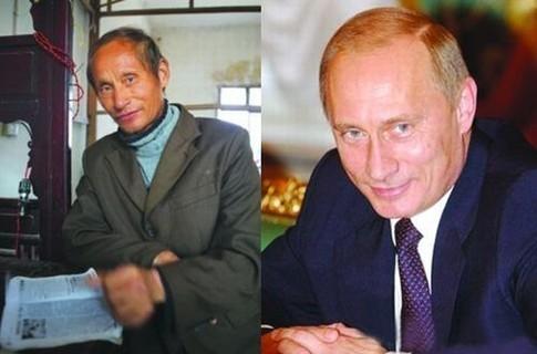 двойник Путин китаец