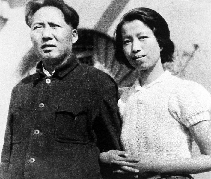 Мао Цзэдун с супругой Китай