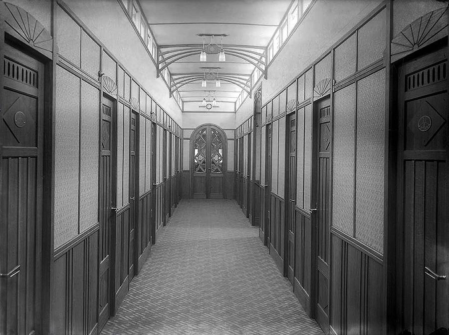 Каюты 1 класса речного судна начала 20 века