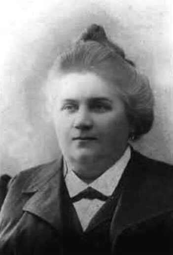 портрет судовладелицы М.К. Кашина