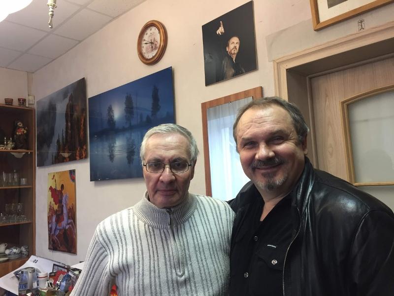 Аркадий Константинов, Сергей Федотов, театр У Моста