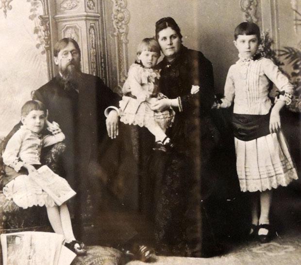 старое фото Кашины судовладельцы